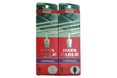 Кабель USB Remax Lite Type-C RC-006a черный 1m в уп.