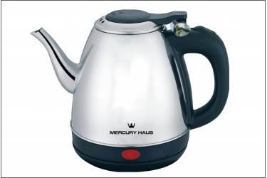 Чайник электрический MercuryHaus MC-6636 нерж сталь 1,2 л. 2200Вт