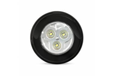 Фонарь SmartBuy Push Light светодиодный 3 Вт 3AAA, черный (SBF-133-B)/360