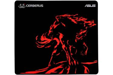 Коврик для мыши Asus CERBERUS MAT PLUS черный/красный