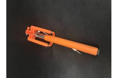 Монопод для селфи Z07-5S проводной (оранжевый)