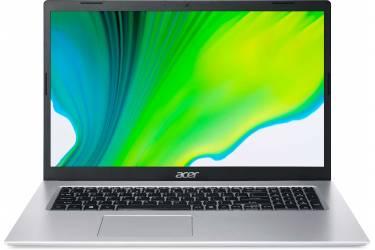 "Ноутбук Acer Aspire 5 A517-52-72JN Core i7 1165G7/8Gb/SSD256Gb/Intel Iris Xe graphics/17.3""/IPS/FHD (1920x1080)/Windows 10 Professional/silver/WiFi/BT/Cam/3220mAh"