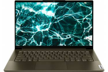 "Трансформер Lenovo Yoga 7 14ITL5 Core i5 1135G7/8Gb/SSD512Gb/Intel Iris Xe graphics/14""/IPS/Touch/FHD (1920x1080)/Windows 10/d.green/WiFi/BT/Cam"