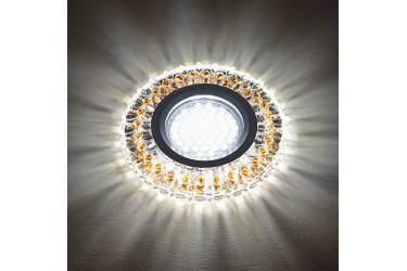 Светильник точечный Uniel DLS-L138 GU5.3 GLASSY/LIGHT TEA без лампы