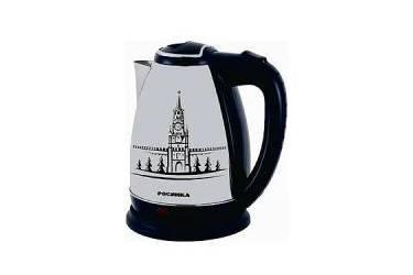 Чайник электрический Росинка РОС-1004 нерж 2000Вт 2л рис Кремль