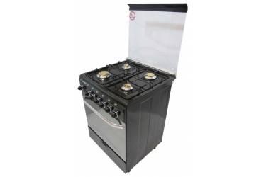 Плита газовая Fresh 60X60 Italiano black э/р автоподжиг гриль вертел 85*60*60см ст крышка