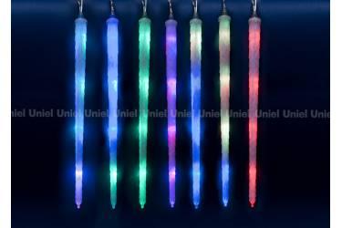 Занавес светодиодный фигурный «Морозные сосульки» ULD-E3005-210/DTK RGB IP44 FROSTED ICICLE