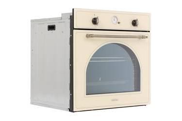 Духовой шкаф электрический ASCOLI OB76R-17FC7IG бежевый 76л 7пр гриль конвекция