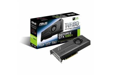 Видеокарта Asus PCI-E TURBO-GTX1080TI-11G nVidia GeForce GTX 1080Ti 11264Mb 352bit GDDR5X 1480/11010 DVIx1/HDMIx2/DPx2/HDCP Ret