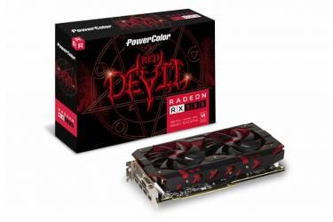 Видеокарта PowerColor PCI-E AXRX 580 8GBD5-3DH/OC Red Devil AMD Radeon RX 580 8000Mb 256bit GDDR5 1380/8000 DVIx1/HDMIx1/DPx3/HDCP Ret