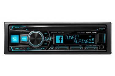 Автомагнитола CD Alpine CDE-185BT 1DIN 4x50Вт