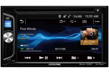 Автомагнитола CD DVD Alpine IVE-W560BT-R 2DIN 4x50Вт