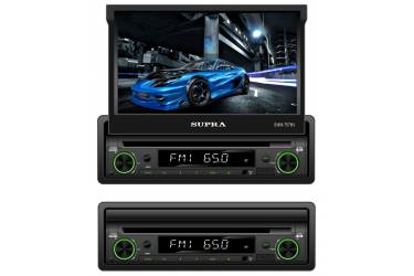 Автомагнитола CD DVD Supra SWM-757NV 1DIN 4x50Вт
