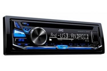 Автомагнитола CD JVC KD-R472 1DIN 4x50Вт