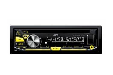 Автомагнитола CD JVC KD-R571 1DIN 4x50Вт