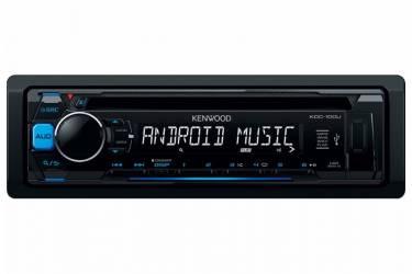 Автомагнитола CD Kenwood KDC-100UB 1DIN 4x50Вт