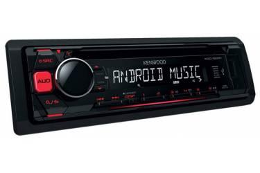 Автомагнитола CD Kenwood KDC-150RY 1DIN 4x50Вт