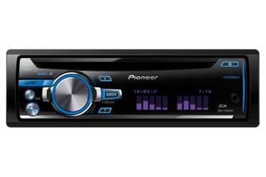Автомагнитола CD Pioneer DEH-X7650SD 1DIN 4x50Вт