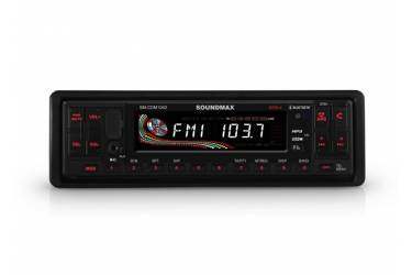 Автомагнитола CD Soundmax SM-CDM1042 1DIN 4x50Вт
