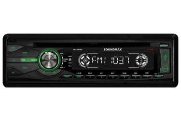 Автомагнитола CD Soundmax SM-CDM1065 1DIN 4x50Вт