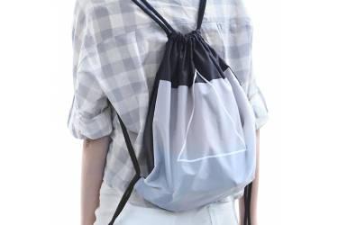 Рюкзак Xiaomi 90 Points Lightweight Waterproof Drawstring Bag Gray водонепроницаемый