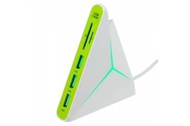 IT/acc Perfeo COMBO USB-HUB 3 Port+Card Reader SD/MMC+Micro SD (PF-HYD-8029H-G)