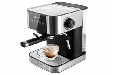 Кофеварка эспрессо Centek CT-1164 нерж 15 Бар +капучинатор +латте, 1500 мл,  1050Вт