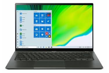 "Ультрабук Acer Swift 5 SF514-55TA-725A Core i7 1165G7/16Gb/SSD512Gb/Intel Iris Xe graphics/14""/IPS/Touch/FHD (1920x1080)/Windows 10/d.green/WiFi/BT/Cam"