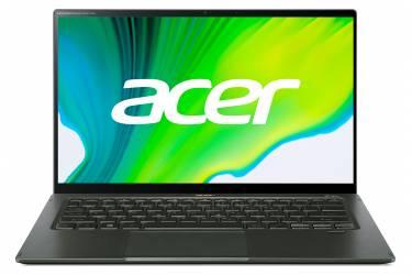 "Ультрабук Acer Swift 5 SF514-55TA-56B6 Core i5 1135G7/8Gb/SSD512Gb/Intel Iris Xe graphics/14""/IPS/Touch/FHD (1920x1080)/Eshell/d.green/WiFi/BT/Cam"