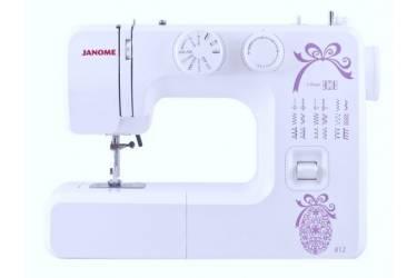 Швейная машина Janome 812 белый (кол-во швейных операций -14)
