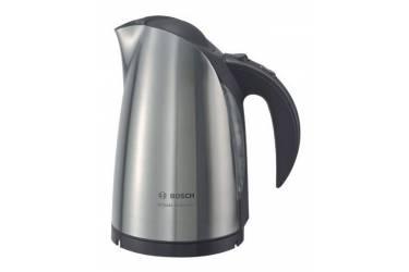 Чайник электрический Bosch TWK6801 1.7л. 2400Вт серебристый (корпус: нержавеющая сталь)