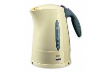 Чайник электрический Braun WK300 1.7л. 2280Вт бежевый (корпус: пластик)