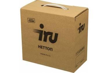Неттоп IRU 111 Cel J3355 (2)/2Gb/500Gb/HDG500/CR/Free DOS/GbitEth/WiFi/40W/черный