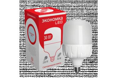 Лампа светодиодная ЭКО_Экономка _HW_30W/6500K_E27 _2650 лм _высокомощная