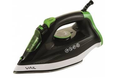 Утюг VAIL VL-4002 черно-зелёный 2600 Вт
