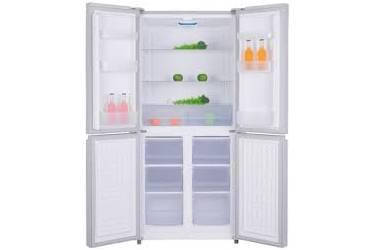 Холодильник Ascoli ACDW415 белое стекло 4-дверный, 415л, 800 х 598 х 1758 капельный