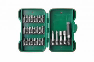 Набор бит и головок Hammer Flex 202-919 DR (62934) (29пред.) для шуруповертов/дрелей