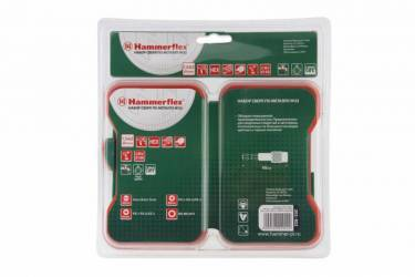 Набор бит и сверл Hammer Flex 202-922 DR (62937) по металлу (20пред.) для шуруповертов/дрелей