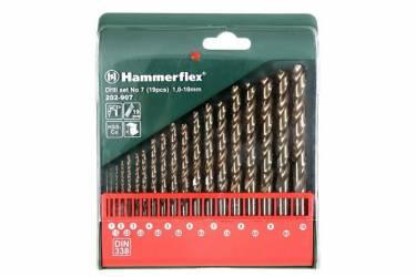 Набор сверл Hammer Flex 202-907 DR (37076) по металлу (19пред.) для шуруповертов/дрелей