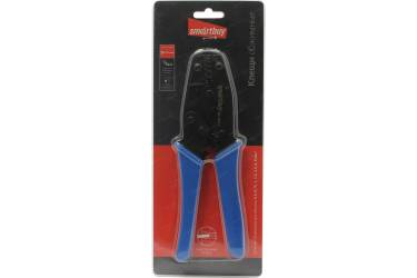 Клещи обжимные, 0,5-6мм2,трещотка, для трубч. изолир. и неизолир. нак.,Smartbuy tools (SBT-WCR-3)/40