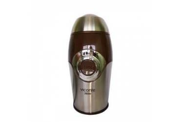 Кофемолка VICONTE VC-3108 нерж/черный 280Вт 75гр