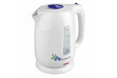Чайник Scarlett SC-EK18P52 белый 1,8л, 2200Вт