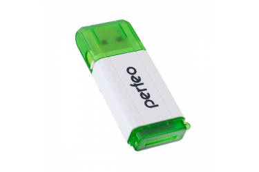 Кардридер Perfeo Card Reader Micro SD, (PF-VI-R019 Green) зелёный