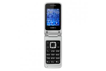 Мобильный телефон teXet TM-304 серебристый