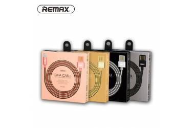 Кабель USB Remax RC-080i Iphone 6/7 черный в уп.