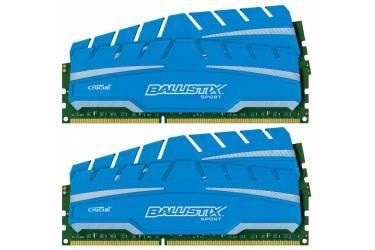 Память DDR3 4x8Gb 1866MHz Crucial BLS4C8G3D18ADS3BEU RTL PC3-14900 CL10 DIMM 240-pin 1.5В kit