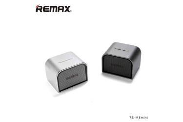 Беспроводная (bluetooth) акустика Remax RB-M8 mini серебро