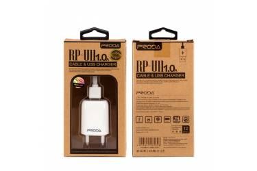 СЗУ Proda 1A RP-U11 для Iphone 5/6/7 (белый)