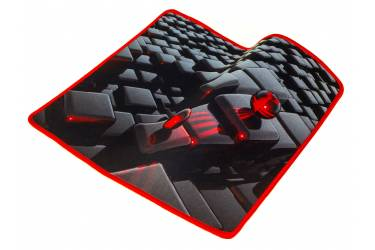 Коврик для мыши Оклик OK-F0282 рисунок/матрица (плохая упаковка)
