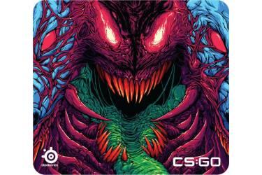 Коврик для мыши Steelseries QcK+ CS:GO Hyperbeast Edition рисунок